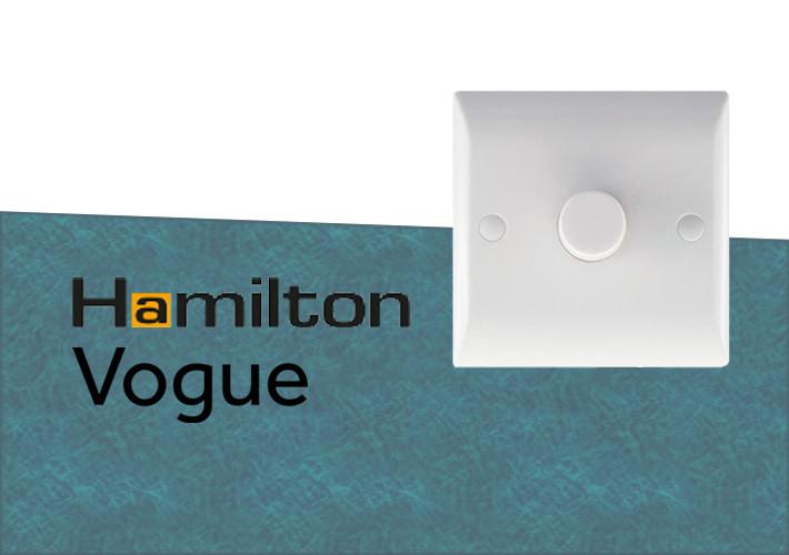 Hamilton Vogue White PVC