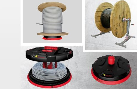 Cable Reels & Rods
