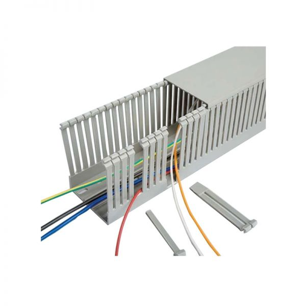 Betaduct Panel Trunking Grey Narrow