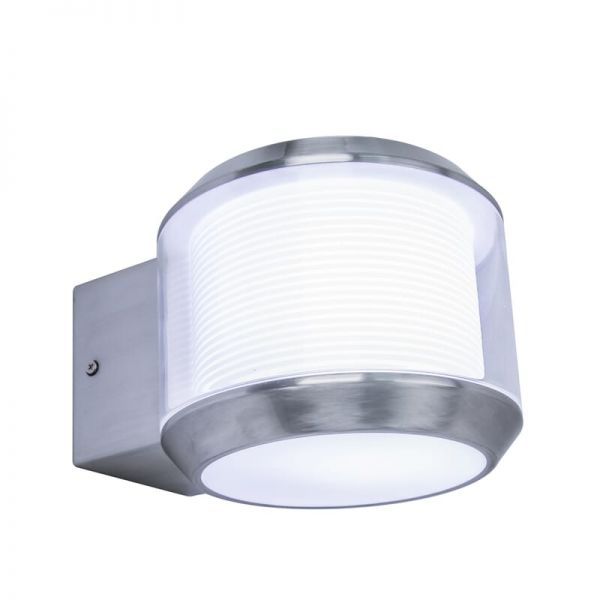 Lutec Whisper Wall Light Stainless Steel E27 IP44