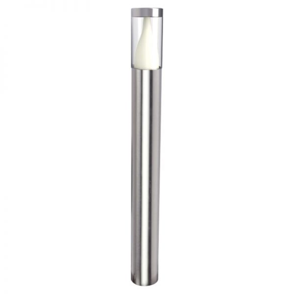 Lutec Virgo Bollard Light Stainless Steel Integrated LED IP44
