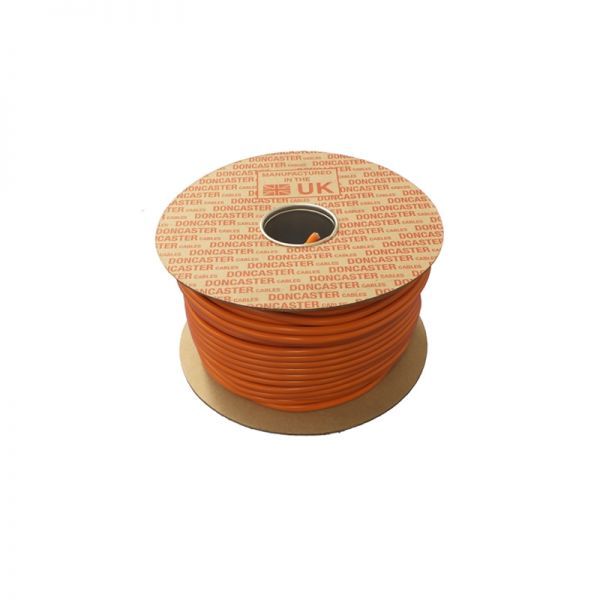 Doncaster Cables H05VV-F Cable 3182Y0.75O100 0.75mm 2 Core 100 Metres