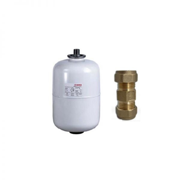 Ariston Expansion Vessel + Non-Return Check Valve (Kit A)