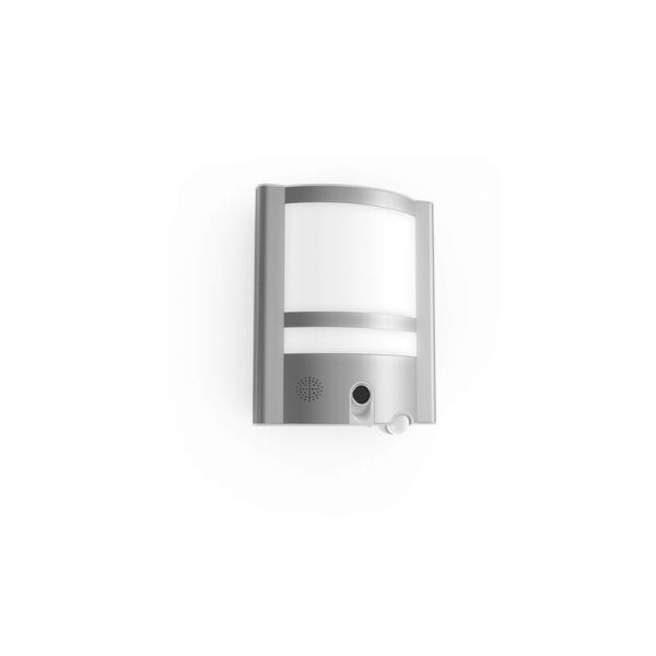 Lutec Vesta Wall Light Stainless Steel Integrated LED IP54