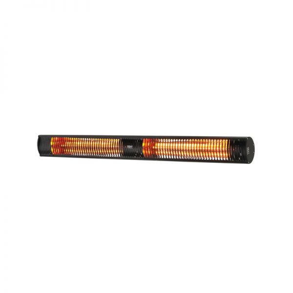 Shadow 3.0kW Ultra Low Glare Heater Black