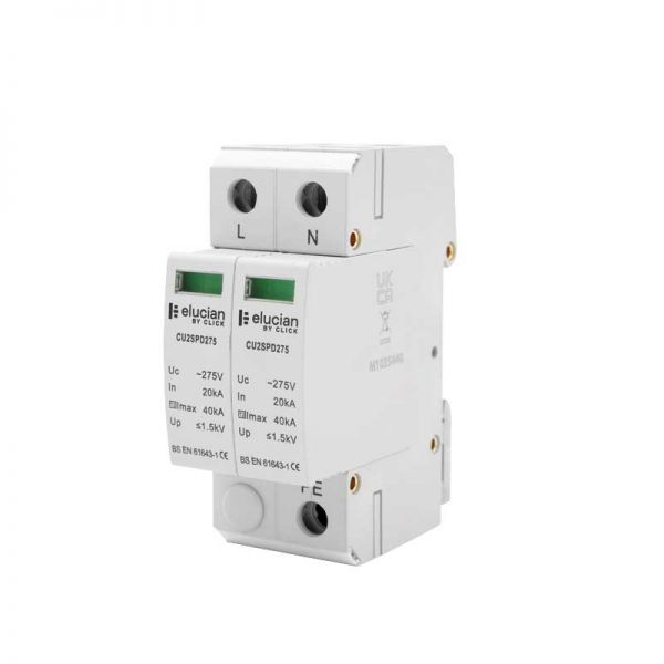 Click ElucianSurge Protection Device Type 2