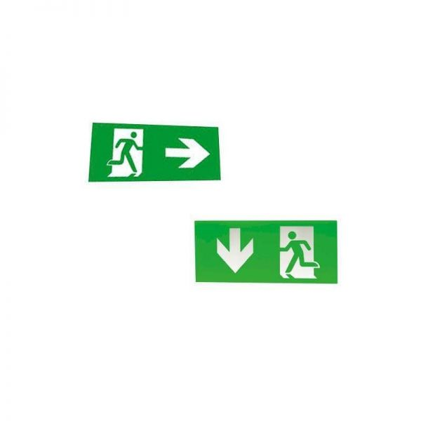 Ansell Lighting Exit Sign Legend AE3LED/L/AD Arrow Down