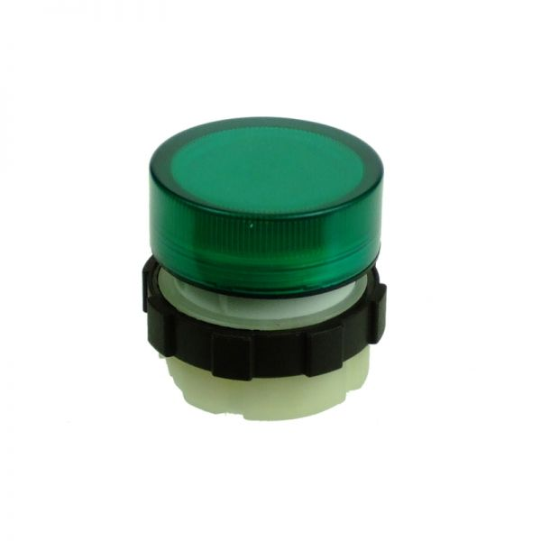IMO Transparent Fresnel Lens Cap Green