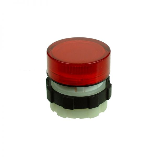 IMO Transparent Fresnel Lens Cap Red