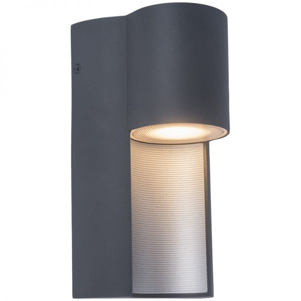 Lutec Urban Wall Light Dark Grey GU10 IP54