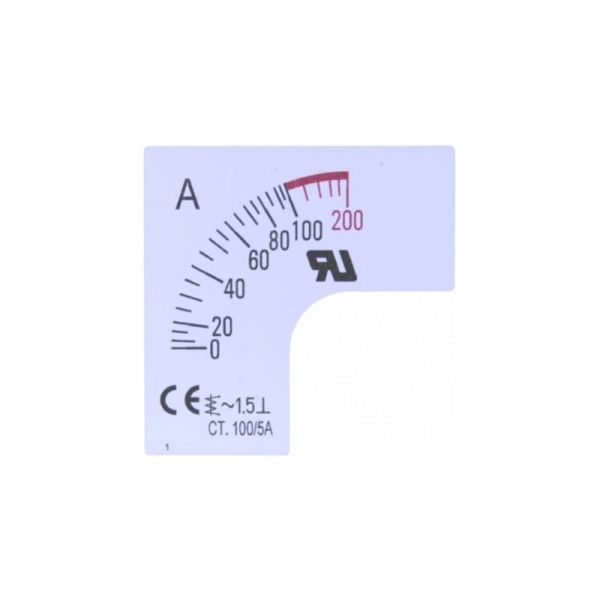 Taiwan Meters SC48-*F2-90 Scale