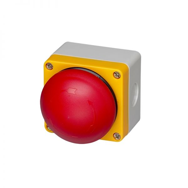 IMO Precision Controls Push Button BS3P14RED-O