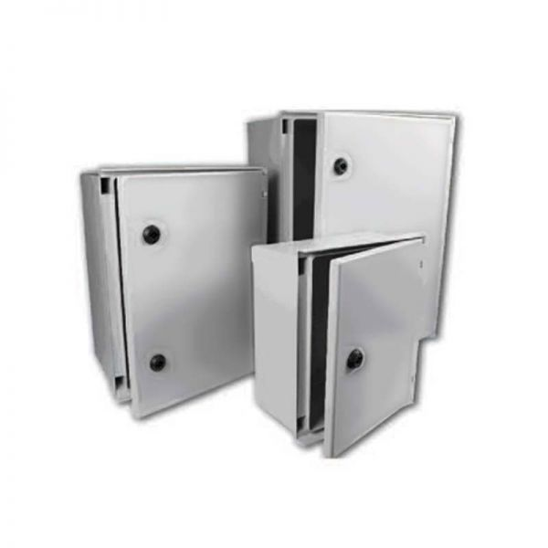 Hellermann GRP Enclosure BRES43 Plain Door 400x300x200mm
