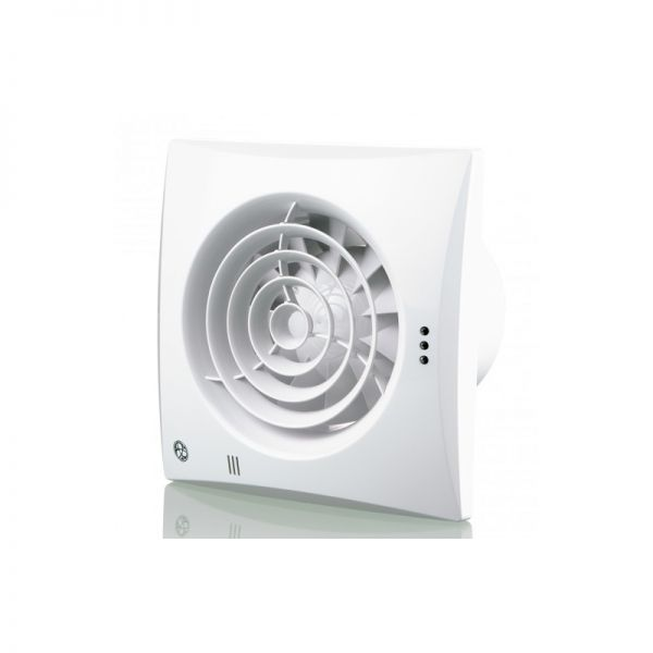 Blauberg Low Noise Energy Efficient Extractor Timer Fan White