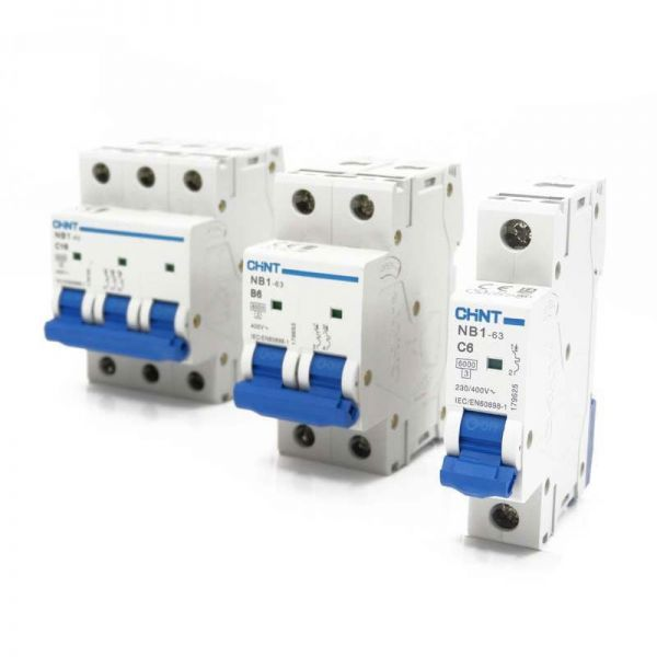 Chint Miniature Circuit Breakers 6kA