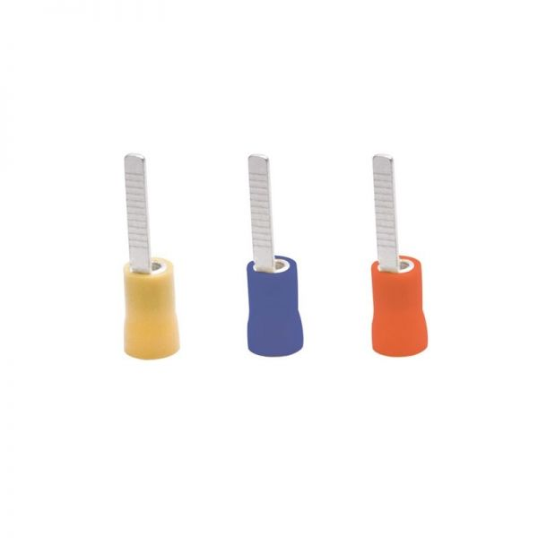 Cablecraft Red / Blue / Yellow Crimps CIB2-10 Blue