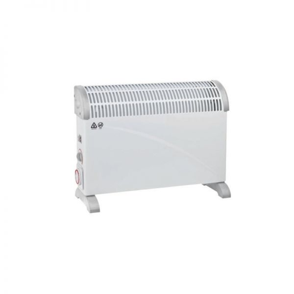 DC Heating 2KW Thermostat With Timer Convector Heater