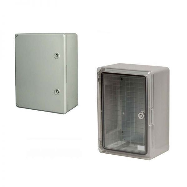 Hylec ABS Enclosure DED001 Plain Door 300x200x130mm
