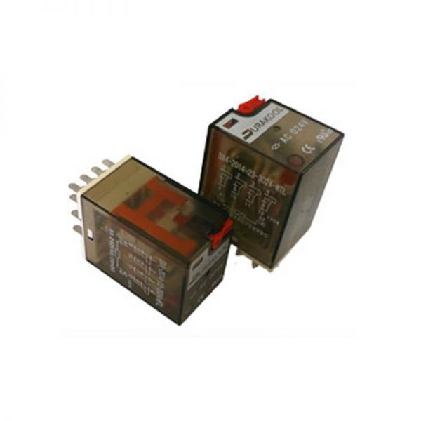 Relpol Relay R4-2014-23-1024WTL 24V DC 4 Pole / 14 Pin