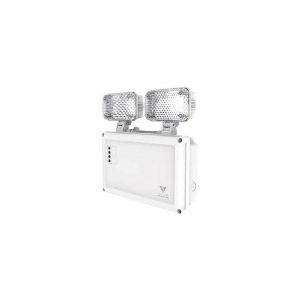 Venture LED Emergency Twin Spot 3W IP65