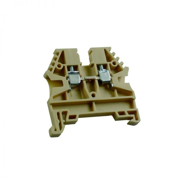 IMO Precision Controls Din Rail Terminal ER2.5PBEIGE 2.5mm Beige (Push in Cross Connection)