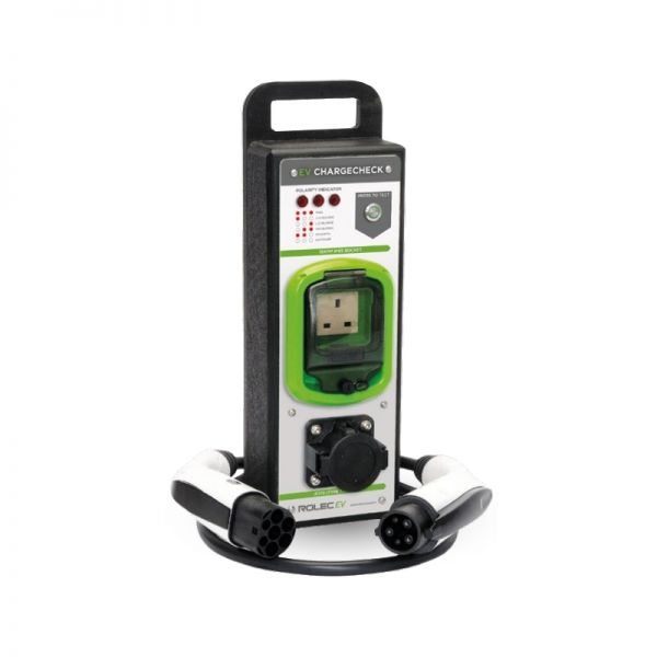 Rolec EV Charge Point Tester for Electric Vehicle Charging Sockets