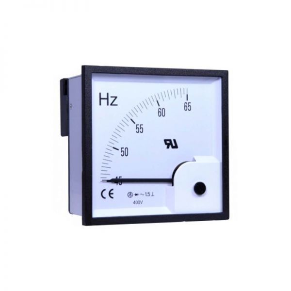 Taiwan Meters Frequency Meter 400V AC 48x48mm