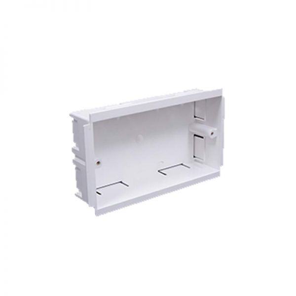 Falcon Trunking Double Outlet Box