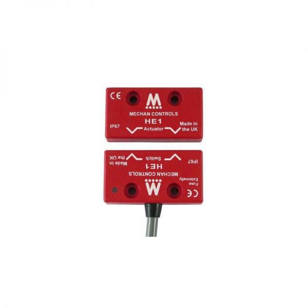 Mechan HE1 Coded Magnetic Safety Switch ABS