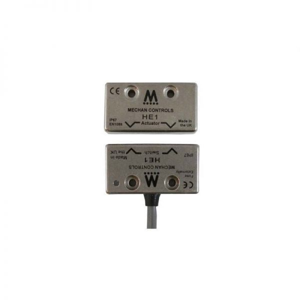 Mechan HE1 Coded Magnetic Safety Switch Stainless Steel