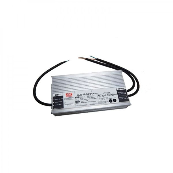 Mean Well HLG-480H-24A LED Driver 480W 24V DC
