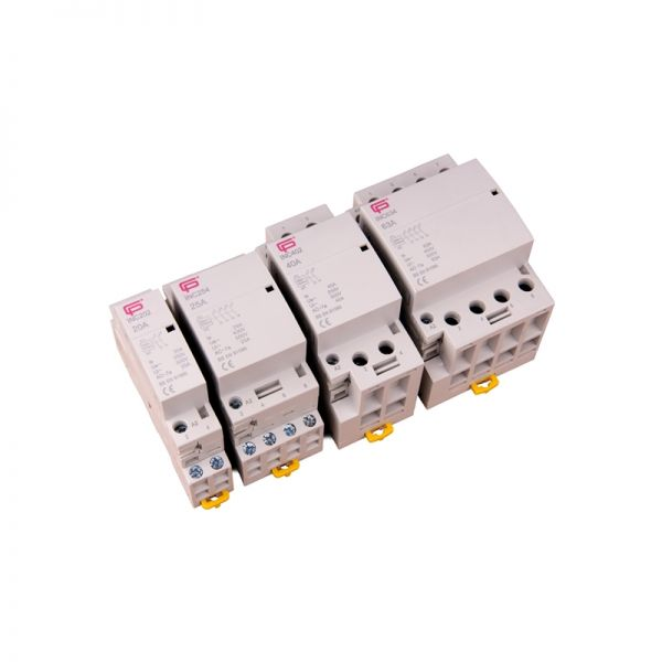 FuseBox Contactor INC254 4 Pole 25A