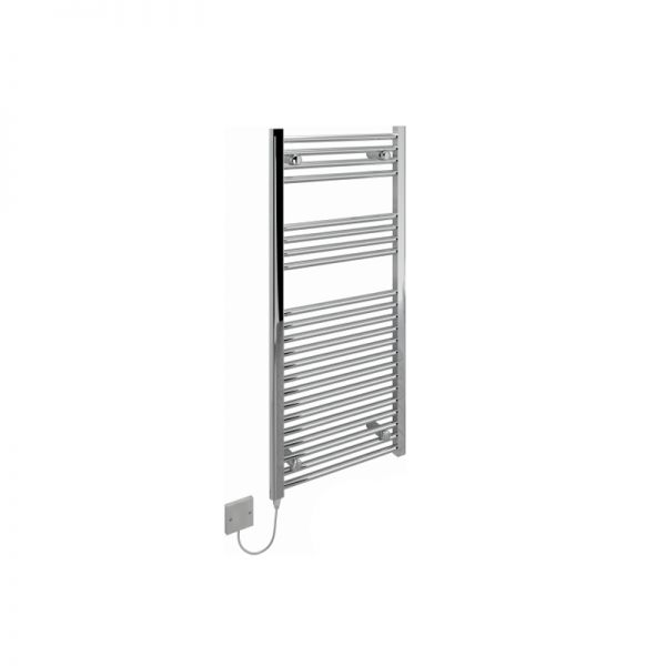 Kudox Curved Liquid Filled Towel Rail With Cartridge Heater