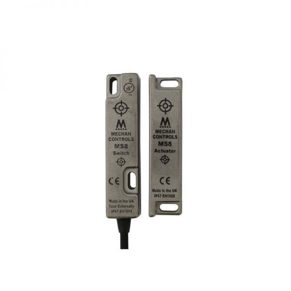 Mechan MS8 Non Contact Safety Switch Stainless Steel