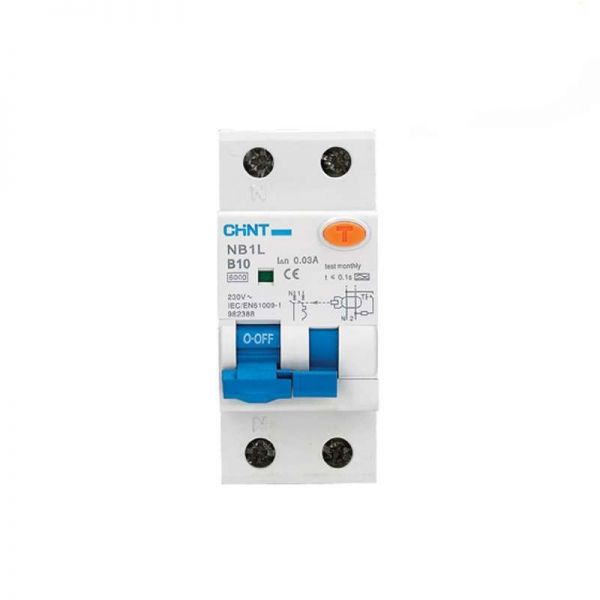 Chint Double Pole RCBO's