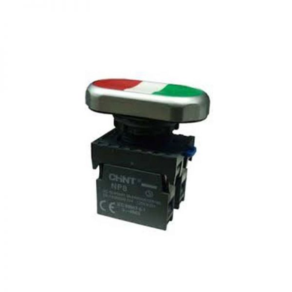 Chint NP8-S Double-Headed Flush Momentary Button