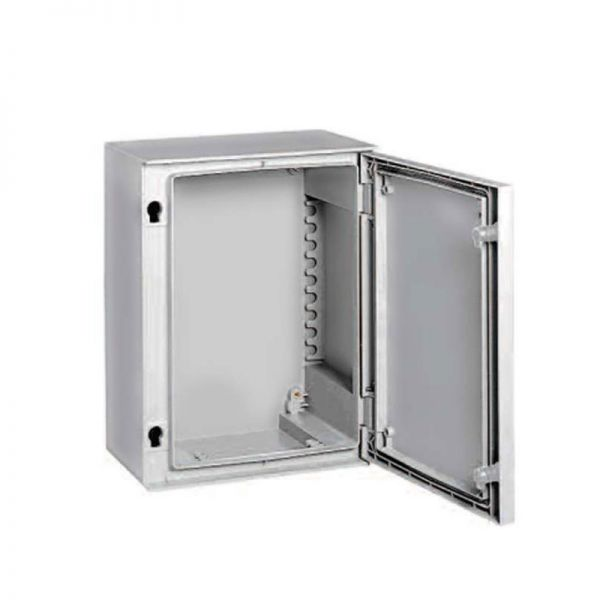 Hellermann GRP Enclosure NSYPLM32T Transparent Door 310x215x160mm