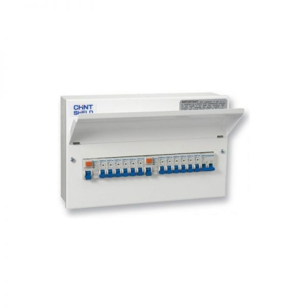 Chint Consumer Unit NX3-16RA 16 Way