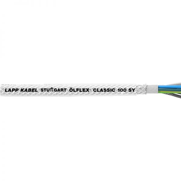 Lapp Olflex Classic 100 SY Cable Colour Code