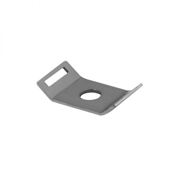 Unicrimp M6 Cable Tie Mount Stainless Steel (Pack of 50)