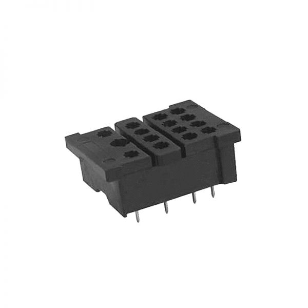 IMO Relay Socket Base For HYE41 Relays Solder Terminal