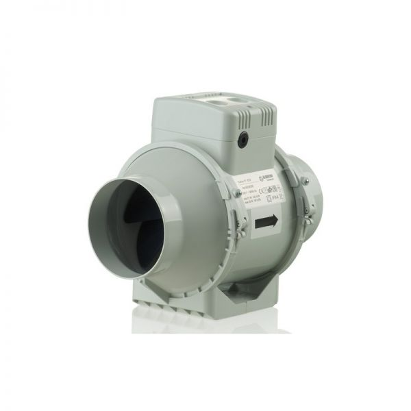 Blauberg Turbo-E In-Line Extractor Fan (100mm)