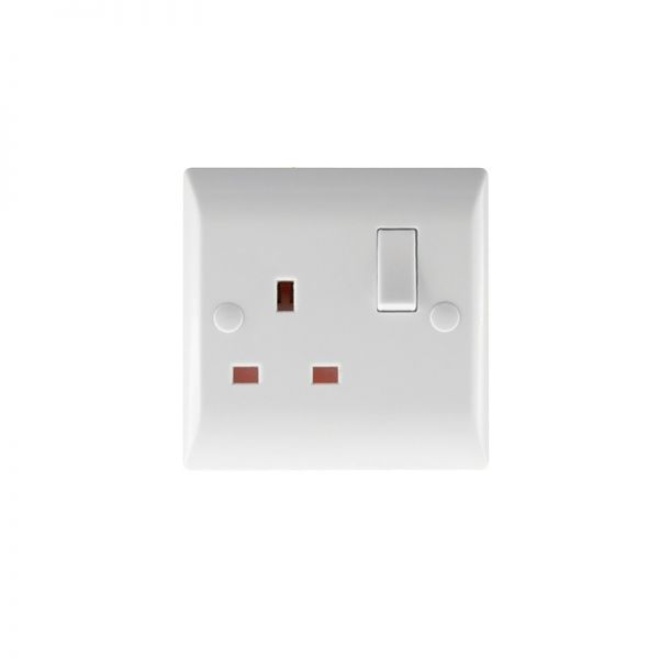 Hamilton Vogue 1G 13A DP Switched Socket