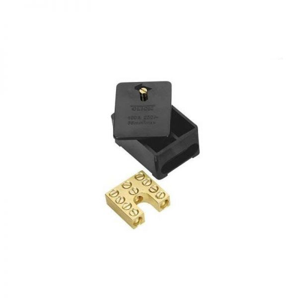 Click Single Pole 100A 5 Way Connector Block