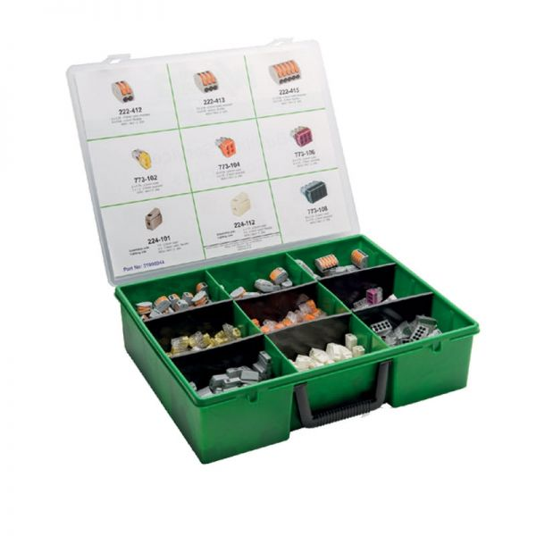 Wago Installer Kit Box With 690 Wiring Connectors