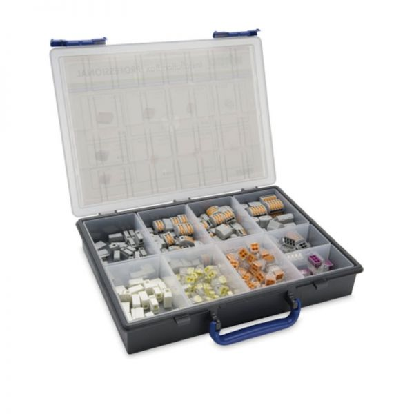 Wago Installer Kit Box Pro with 240 Wiring Connectors