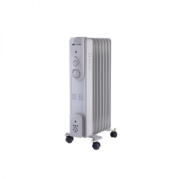 DC Heating 2.5KW Thermostat Oil Filled Radiator Heater