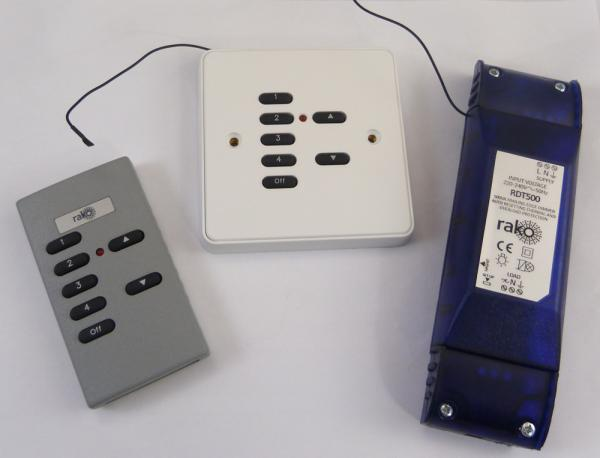 Remote Control Dimmer Switch for use with LED Lights