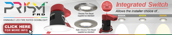 Ansell PRISM CCT downlights Banner