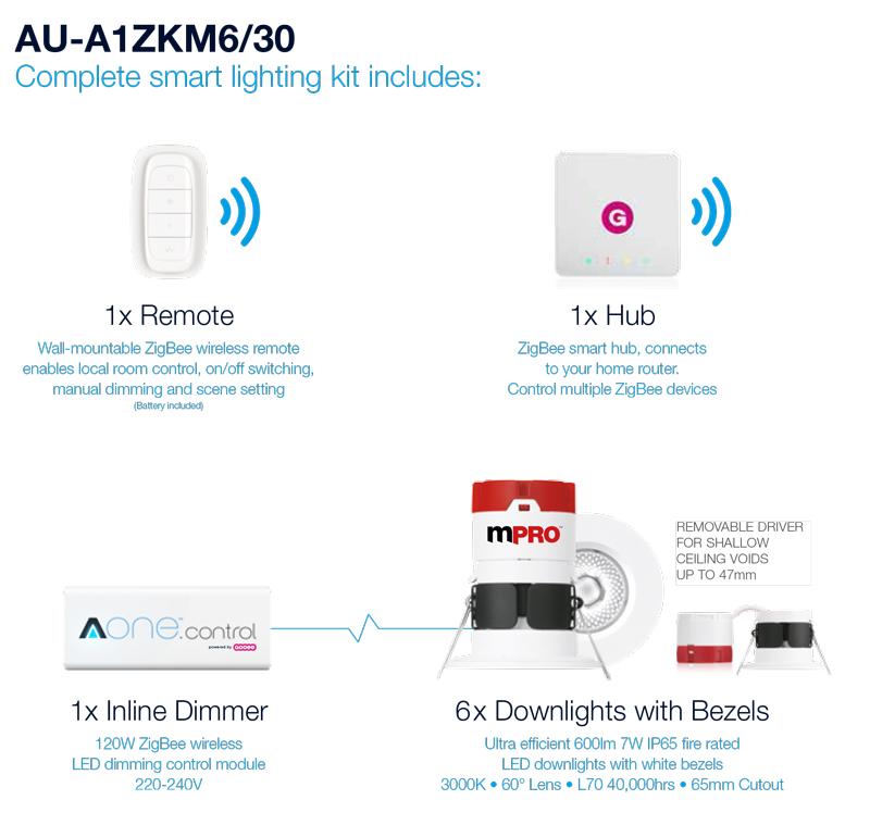 Aurora-AOne-Smart-Lighting-downlight-kit